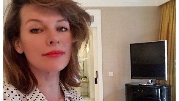 Голливудская актриса Мила Йовович