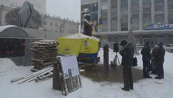 Винница: Тарас Шевченко против Небесной сотни