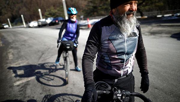 Рита Руттиманн и Гидо Гувилер проехали 17 тысяч километров, чтобы увидеть выступление сына на Олимпиаде