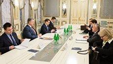 Визит заместителя государственного секретаря США Джона Салливана в Киеве