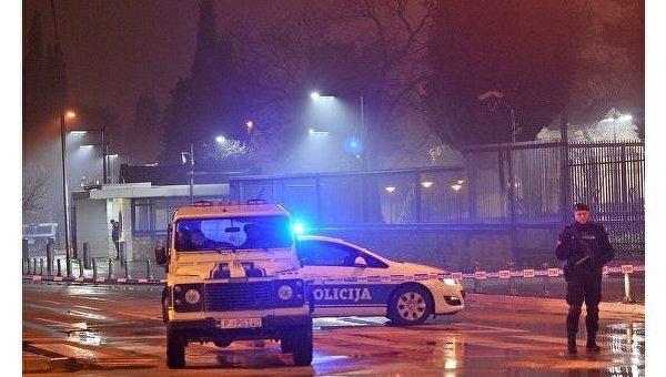 Смертник подорвался у посольства США в Черногории