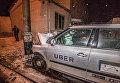 В Киеве произошло ДТП с машиной Uber