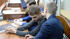 Заседание Шевченковского районного суда г. Киева по делу об убийстве журналиста Олеся Бузины