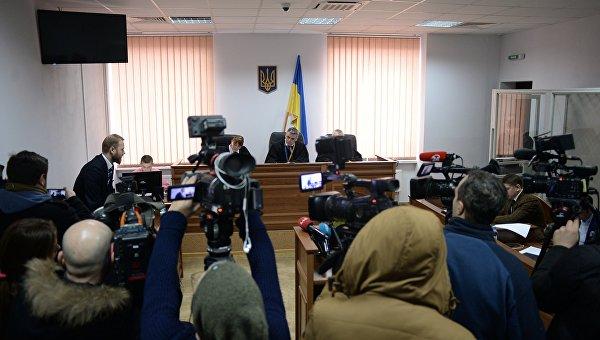 Заседание суда по делу об убийстве журналиста Олеся Бузины. Архивное фото
