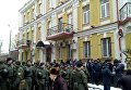 Митинг одесских активистов под Соломенским судом, где проходит судебное заседание по делу Труханова