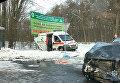 Скорая помощь попала в аварию в Винницкой области