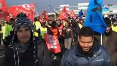 Профсоюзы Air France объявили всеобщую забастовку. Видео