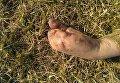 Рука без пальцев мужчины, чье тело было найдено в Кременчугском районе