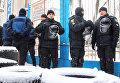 В одесский санаторий ворвались люди с арматурой и заняли админздание