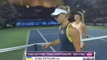 Выход Элины Свитолиной в финал турнира в Дубае. Видео