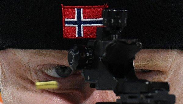 Олимпиада 2018. Спортсмен из Норвегии