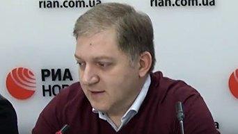 Олег Волошин о миротворцах в Донбассе. Видео