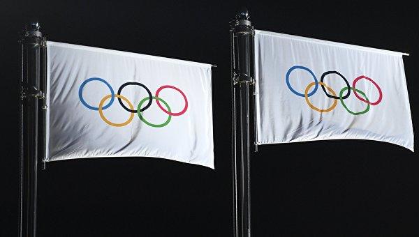 Нейтральные (олимпийские) флаги призеров