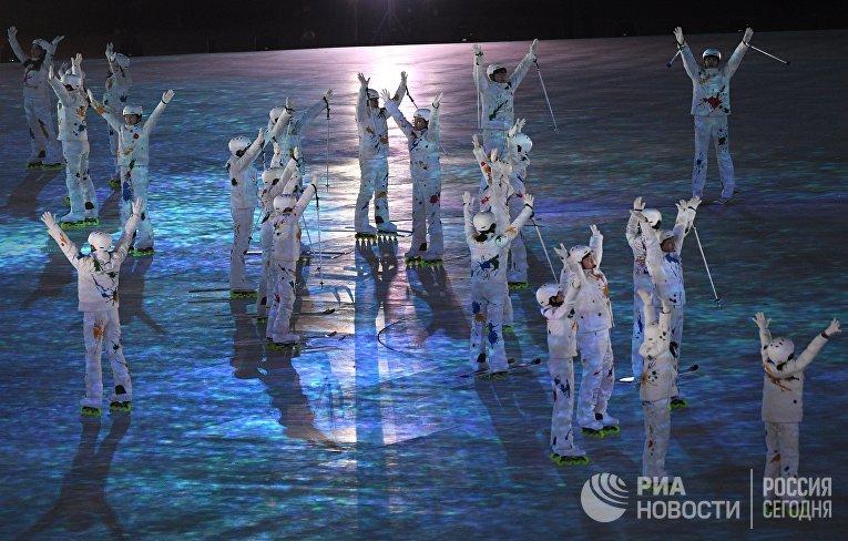 Церемония закрытия XXIII зимних Олимпийских игр в Пхенчхане