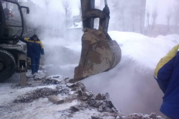 Ситуация в Харькове, где часть города осталась без тепла