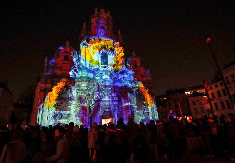 Фестиваль света в Брюсселе