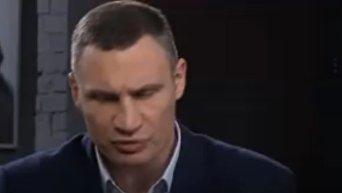 Кличко снова рассмешил киевлян оговоркой на ТВ. Видео