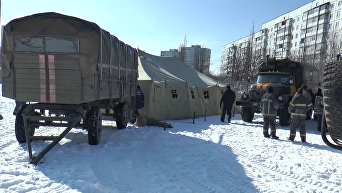 Ситуация в Харькове после аварии на теплосетях