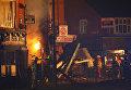 Взрыв в трехэтажном доме в городе Лестер