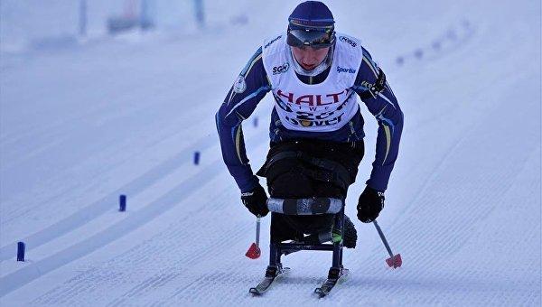 Спортсмен-паралимпиец. Архивное фото