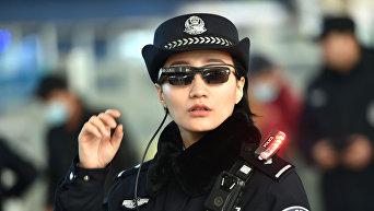 Смарт-очки, оснащенные технологией распознавания лиц