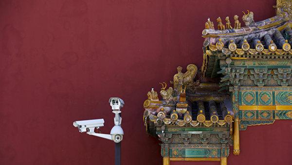 Камеры наблюдения в Китае