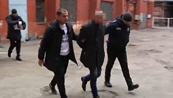 Задержание убийцы в Днепре. Видео