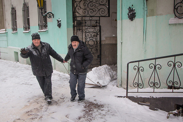 Зима в Одессе