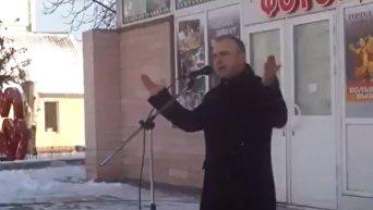 Председатель Генической райгосадминистрации Херсонской области Александр Воробьев