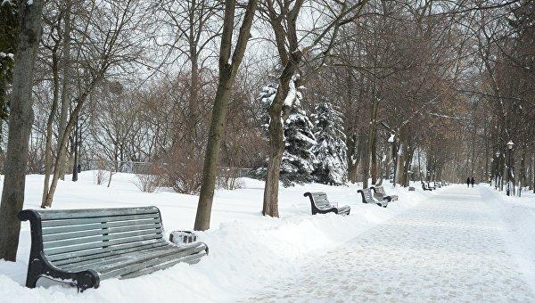 Последний день зимы в Киеве