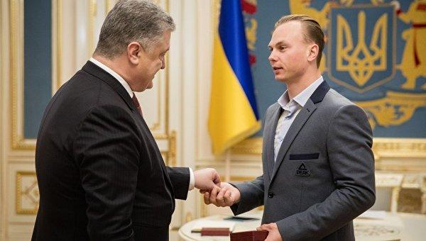 Встреча Петра Порошенко и Александра Абраменко