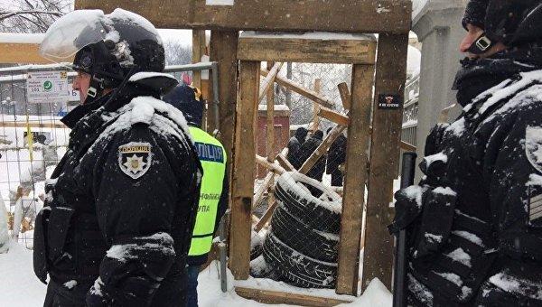 Силовики возле здания Верховной Рады 1 марта 2018 года