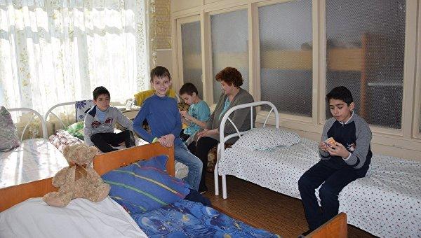 Педиатрия горбольницы №3 в Мариуполе