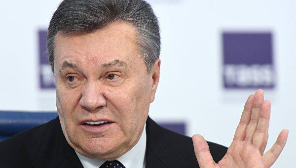 Пресс-конференция Виктора Януковича