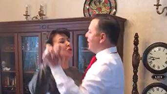 Ляшко танцует с женой