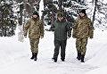 Встреча освобожденных пограничников Игоря Дзюбака (слева) и Богдана Марцонь (справа) в Главном военном-медицинском клиническом центре в Киеве