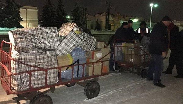 Попытка контрабанды российских книг в Сумской области