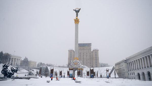Центр Киева. Архивное фото