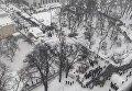 Опубликовано полное видео зачистки палаточного городка в Киеве