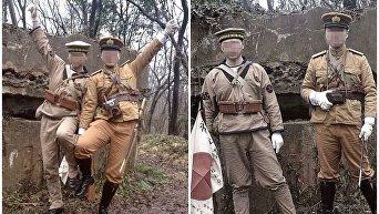 В Китае двое молодых людей получили 15 суток ареста за фото в японской форме