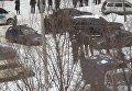 На месте взрыва в Донецке. Видео