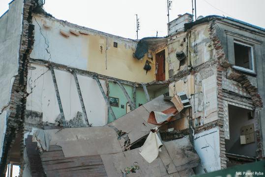 Взрыв газа в польской Познани