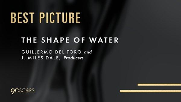 Форма воды завоевала главную награду Оскара