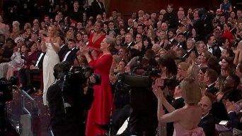 Мэрил Стрип на 90-й церемонии вручения Оскара