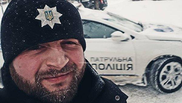 Командир патрульной полиции Евгений Зборовский