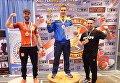 В США будущий священник победил на чемпионате мира по гиревому спорту