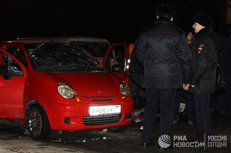 Взрыв прогремел в центре Донецка