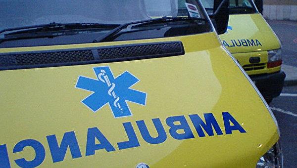 Автомобиль скорой помощи в Великобритании. Архивное фото