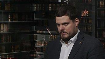 Андрей Ильенко о разгоне палаточного городка под ВР. Видео