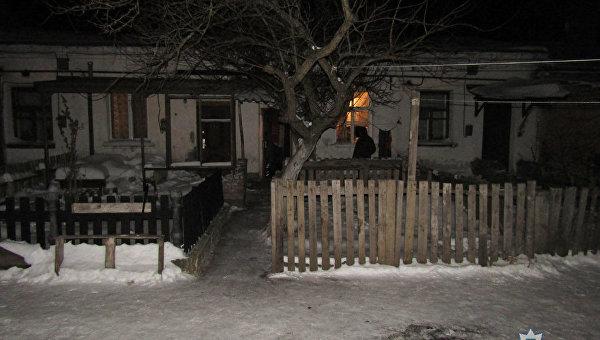 Дом, где погибли 8 человек от угарного газа